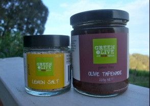 lemon salt olive tapenade