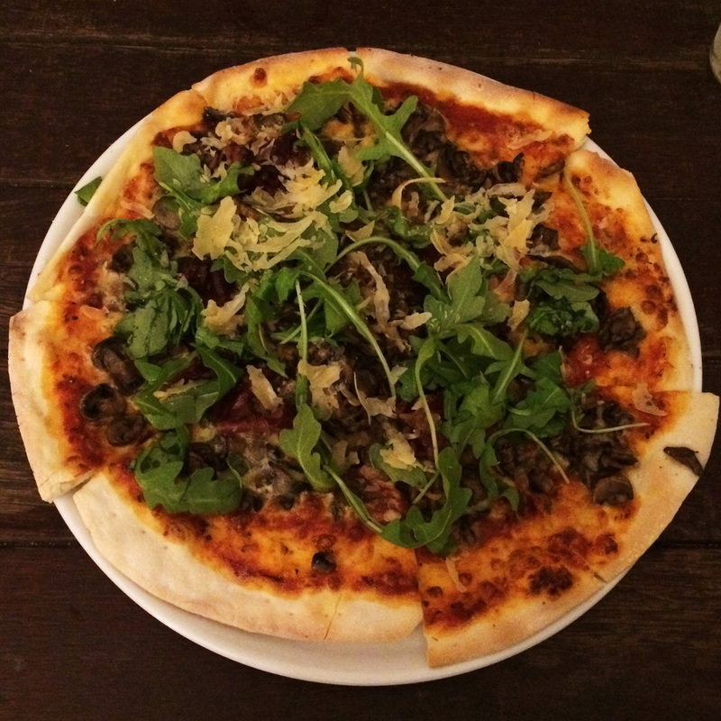 The Burrow West End Brisbane Dinner Review Pizzas
