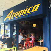 Atomica Eat Drink West End Cafe Review